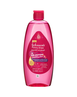 JOHNSON S SHAMPOING BEBE SHINY DROPS 300 ML