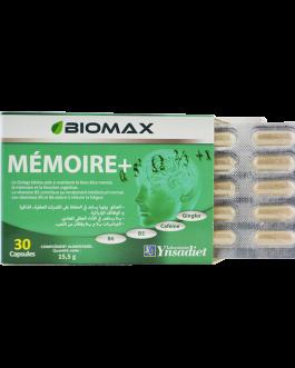 BIOMAX MEMOIRE+ COMPLEMENT ALIMANTAIRE 15.5G  DE 3...