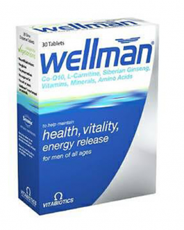 VITABIOTICS WELLMAN B/30