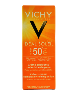VICHY IDEAL SOLEIL CREME INVISIBLE ONCTUEUSE  SPF5...