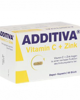 ADDITIVA VITAMINE C + ZINC  COMP
