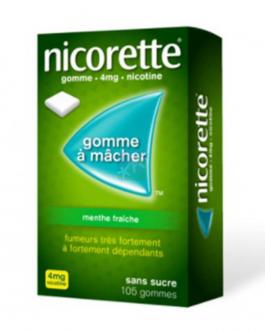NICORETTE MENTHE FRAICHE 4MG B/105