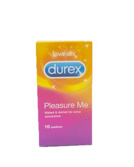 DUREX PRESERV PLEASURE B/10