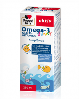 DOPPEL HERZ OMEGA-3 JUNIOR SIROP MULTI-VITAMINE 25...