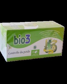 BIO 3 TISANE CONTROLE DE POIDS B/25