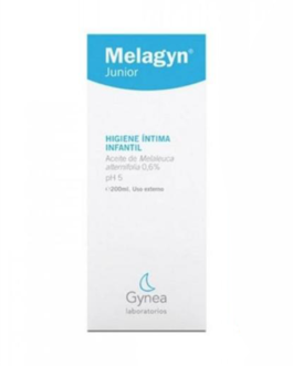 GYNEA MELAGYN JUNIOR GEL MOUSSANT 200ML