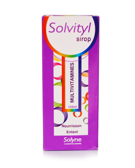 SOLVITYL SIROP MULTIVITAMINES ENFANT  120ML