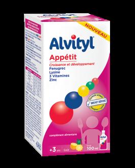 ALVITYL APPETIT SIROP 100ML