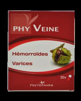 PHYTOPHARM PHYVEINE HEMORROIDES VARICES B/30