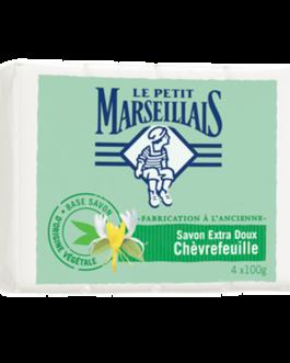 LE PETIT MARSEILLAIS SAVON EXTRA DOUX CHEVRE FEUIL...