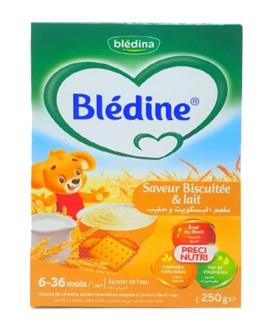 BLEDINE FARINE LACTEE BISCUIT LAIT 250G