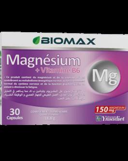 BIOMAX MAGNESIUM+VITAMINE B6