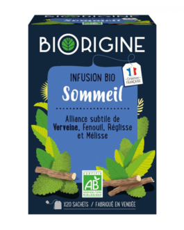 BIORIGINE INFUSION BIO SOMMEIL TISANE SACHT B/20