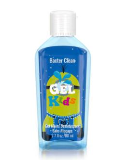 BACTER CLEAN GEL ANTIBACTERIEN KIDS BLUE 80ML