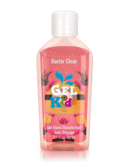 BACTER CLEAN GEL ANTIBACTERIEN KIDS ROSE 80ML