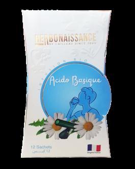 HERBONAISSANCE TISANE ACIDO BASIQUE B/12