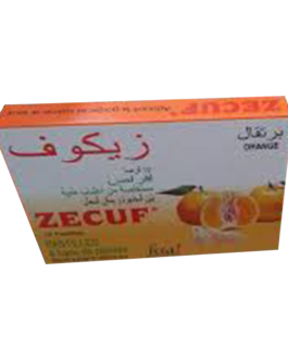ZECUF PASTILLES ORANGE B/12