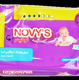 NOVYS CLASSIC + DREAM LINGETTES P/72